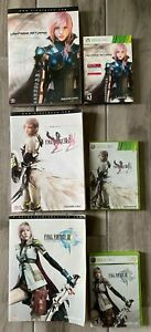 U Pick Xbox 360 Live Final Fantasy Video Game And Guide Book XIII XIII2
