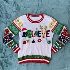 No Boundaries Ugly Christmas Holiday Sweater Size Youth Large