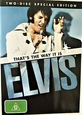 Elvis Presley That's The Way It Is DVD Musical Music Special Edition R4