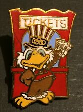 1984 LOS ANGELES OLYMPIC PIN SAM THE EAGLE MASCOT TICKETS SALE CLOISONNE