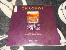 Chronos NEW SEALED Laserdisc LD Ron Fricke Michael Strarns Free Ship $30 Orders