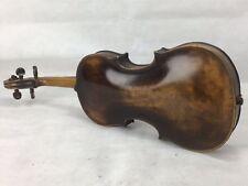 Antique Old Vintage Violon 4/4 avec étiquette.