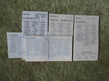 STRAT-O-MATIC BASEBALL 1956 Season Card Set::OOP
