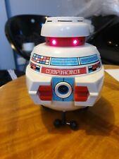 Vintage RARE early 1980s Compurobot Axlon electronic robot toy programmable