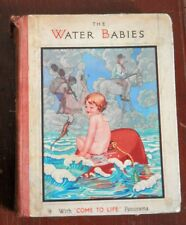 OLD BOOK 1930 THE WATER BABIES WITH COME TO LIFE PANORAMA BY CHARLES KINGSLEY