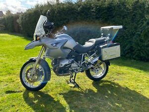 BMW R1200GS 2007 Full Luggage & liners. 44700miles
