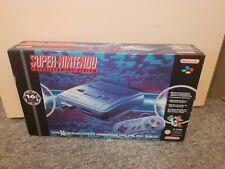 !!! Original Super Nintendo Entertainment System SNES Konsole Grau TOP+OVP !!!