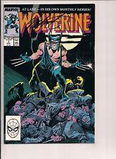 Wolverine #1 Signed by Chris Claremont W/COA (Nov 1988, Marvel)