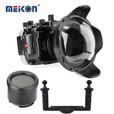 Meikon Underwater Camera Housing for Sony A7 II A7R II A7S II w/Dome Port & Tray