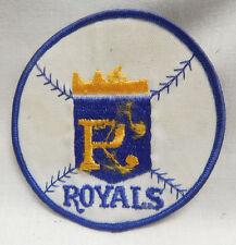 "VTG VINTAGE SPORTS PATCH MLB Major Leage Baseball Emblem Kansas City Royals 4"""