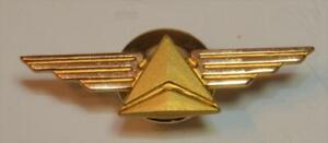 10k yellow gold filled Delta Airline Uniform Flight Pin