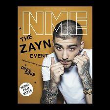 ZAYN MALIK Photo Cover interview UK NME MAGAZINE MARCH 2016