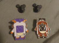 2 MAGIC BAND Disney Pin 3 & 5 - 2014 Hidden Mickey HM WDW PINS LOT OF 2.