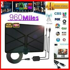 Newest TV Aerial Indoor Amplified Digital HDTV Antenna 960 Miles Range with 4K H