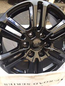 """4x Genuine Ford Ranger Wildtrak Wheels In Black 18"""" (2020) Latest Version"""