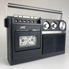 1980's Radio / Cassette Tape Player / Boombox - JVC RC-222LB - Vintage Retro