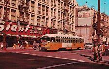 Los Angeles,CA.Bus Line #3131,Yellow Car,c.1962-63