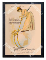 Historic Dr Morse's Indian Root Pills Nellie Bly Advertising Postcard 2