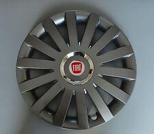 """14"""" Fiat Punto, 500, etc... Adornos/cubiertas de rueda, Tapacubos, cantidad 4"""