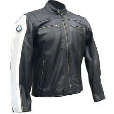 BMW Mens Motorbike Racing Leather Mens Jacket Biker Motorcycle Leather Jackets