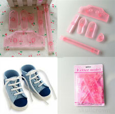 Shoes Cookie Fondant  Cake Decorating Plunger Mold Cutter Mould Sugarcrafts New