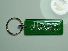 Jeep Key Chain Green / Chrome