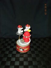 "Enesco Animated Music Box ""There'll Be A Hot Time In The Old Town Tonight"""