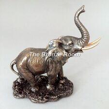 BRONZATO/resina Elefante Scultura/Figurina