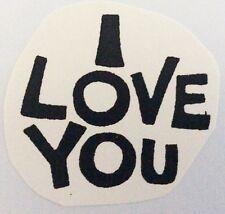 "Original ""I Love You"" Mini Iron On Transfer"