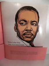 Vintage Black History Posters(18), MLK, 1966 Afro-Am publishing Portfolio No. 2