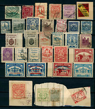 M079 SPAIN CIVIL WAR. COLLECTION LOCALS STAMPS ANDALUCIA.