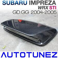 Carbon Fiber Air Intake Vent Hood Scoop Bonnet For Subaru WRX STI GG 2004-2005