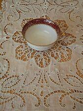 Porcelaine de Limoges Tasse a thé  décor bordeaux et or