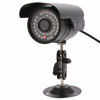 6MM CCTV Security Surveillace Camera Outdoor Waterproof IR USB Wired Bullet Cam