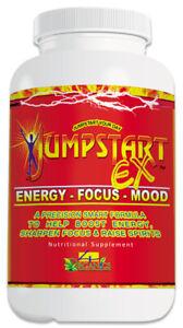 JUMPSTART EX Energy, Focus & Mood Boost Nootropic Supplement (30 Capsules)