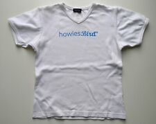 HOWIES Bird 100% Cotton Ladies T-Shirt Top White Logo Surf Skate Bike, Womens S