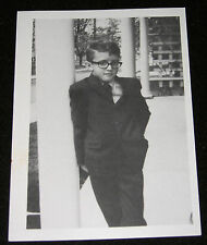 """""""RECENT WORK"""" UNUSED 1988 HARING SHOW POST CARD ANNOUNCEMENT-HARING @12 YEAR OLD"""