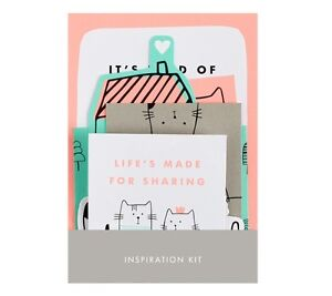 KIKKI K VANSKAP CATS VISION BOARD SET 10 UNIQUE DESIGNS Can use in planner diary