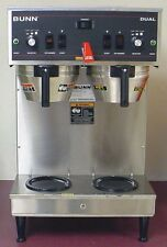 Bunn Dual Automatic Coffee Brewer Maker Machine w/ faucet w/ 3 batch settings