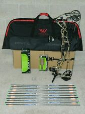 """Loaded Hoyt Carbon RX-1 Bow Package- 27 to 30"""" - 70 lb-REDWRX-RX1- Realtree Camo"""