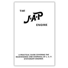 Una guía práctica que cubre el mantenimiento y revisión de J.a.p Motor Estacionario