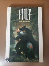 Batman: The Cult TPB 6TH PRINT DC Comics / Starlin/Wrightson/ Wray OOP RARE