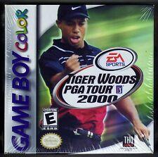 GBC Tiger Woods PGA Tour 2000, Nintendo of America, Brand New & Factory Sealed