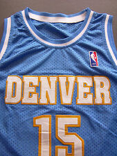 Denver Nuggets Basketball Vest XL Extra Large 15 Anthony Vintage # ITAx263