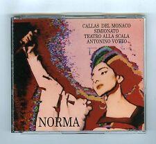 3 CDs BELLINI NORMA LA SONNAMBULA CALLAS SCALA DI MILANO VOTTO(HUNT PRODUCTIONS)