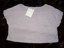 3 SUISSES COLLECTION CASUAL DAMEN T-SHIRT Lila FLIEDER GR. 42/44 NEU