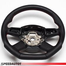 Tuning Audi Flattened LEATHER STEERING WHEEL BLACK AUDI A4 A6 Q5 Q7