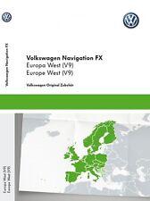 Original VW Volkswagen Navi Navigationsdaten Europa V9 Navigation Update RNS 310