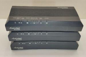 Lot of 3 Verizon Actiontec MI424WR Rev. D 4-Port Wireless 802.11 Router