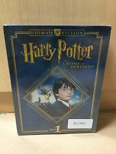 Harry Potter and the Philosopher's Stone French Ultimate Blu Ray Editon New